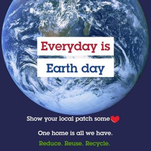Earth Day celebrating nature