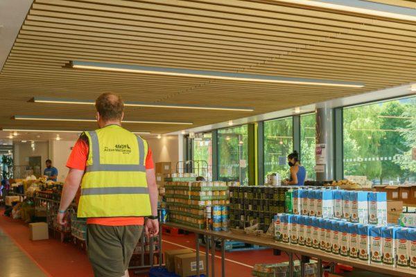 lead food bank volunteer